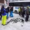 Eigen taxi bus Snow Experience