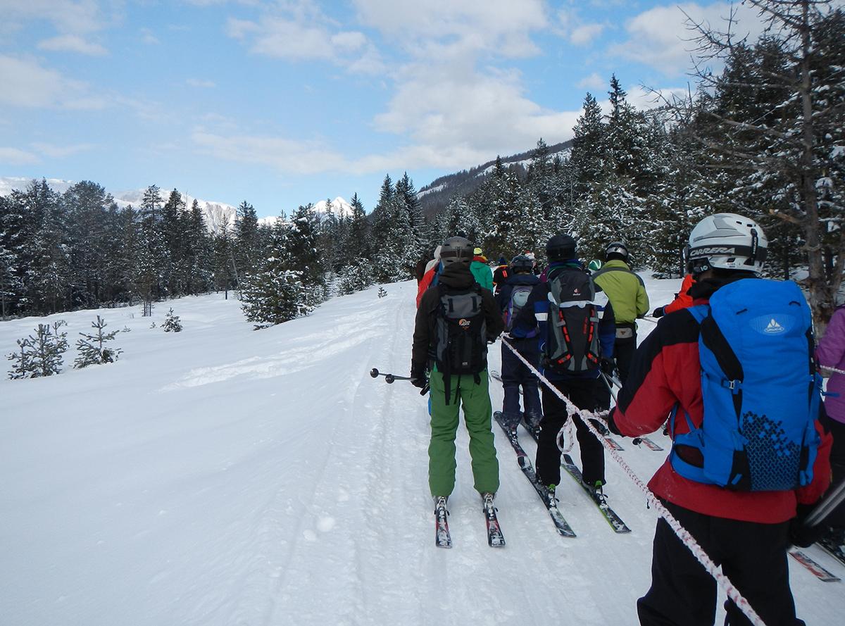27 snow experience huttentocht dolomiti
