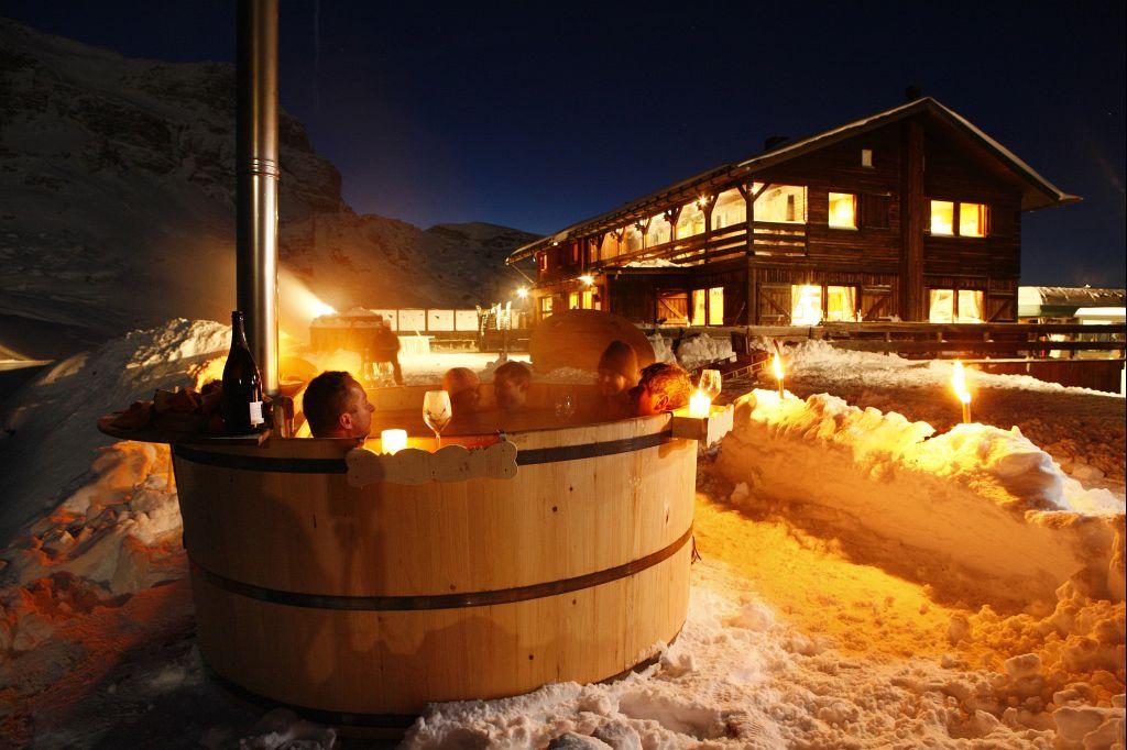 48 snow experience huttentocht dolomiti
