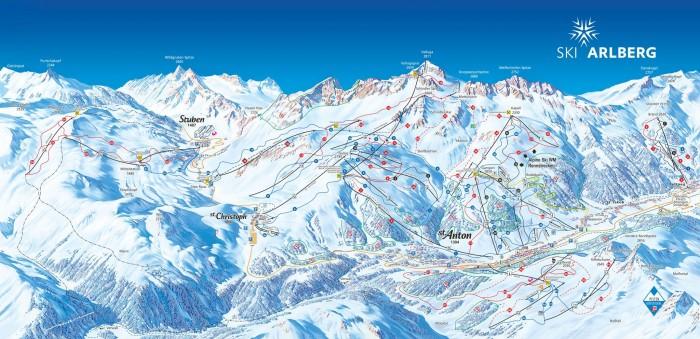 Pisteplan St_Anton_am_Arlberg