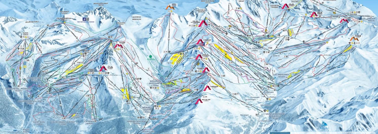 Savoie Skisafari Les 3 Vallees