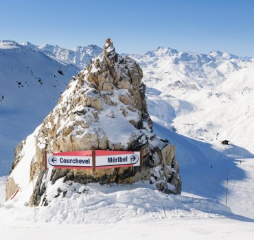 Courchevel of meribel