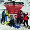Grenspost drielanden skisafari 2018