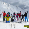 Groepsfoto 3landen skisafari