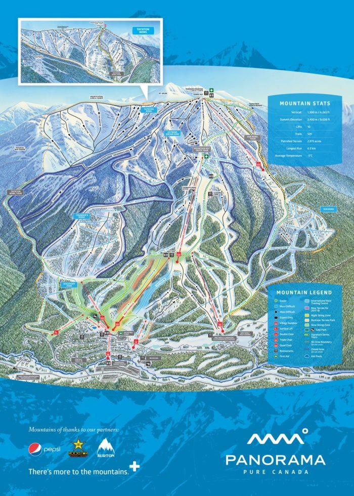 Panorama skisfari